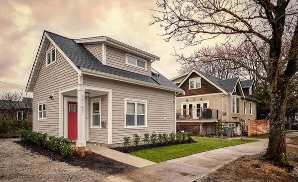 Laneway houses—small houses built in backyards—are taking the ...