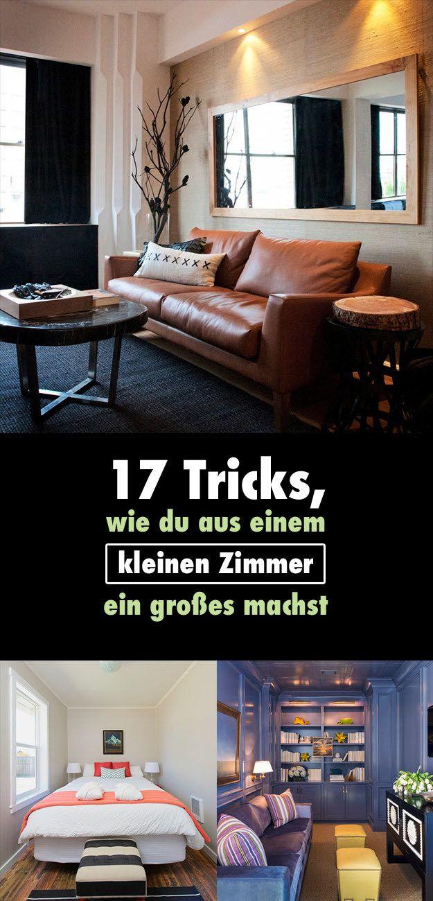 17 Tricks Wie Du Aus Einem Kleinen Zimmer Ein Grosses Machst Home