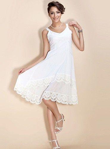 Kurze weiße kleider standesamt | Weiße kleider kurz, Kurze