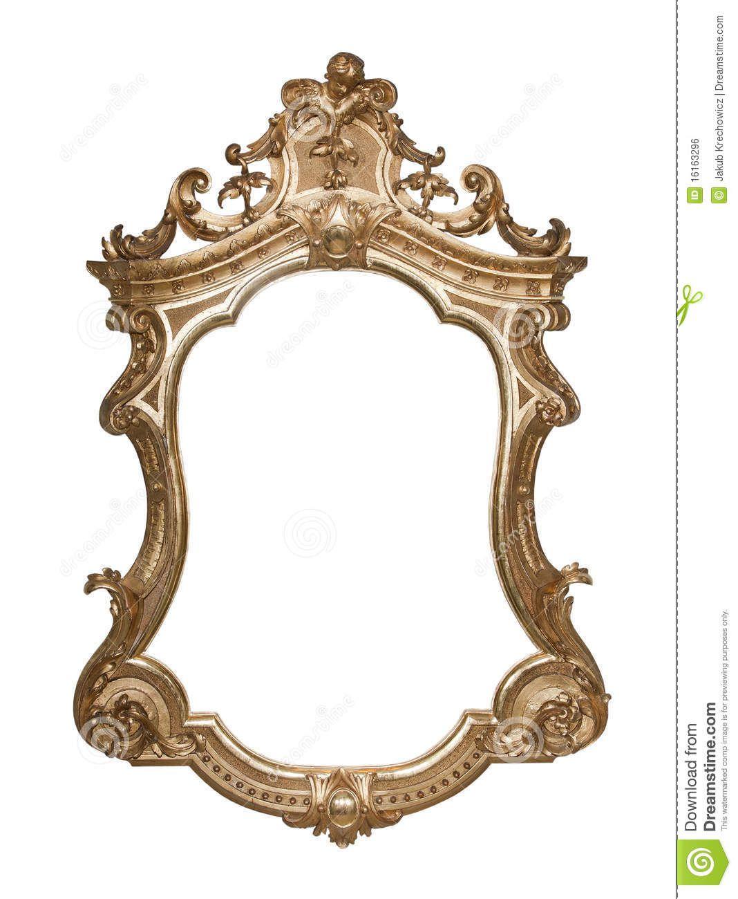 Ornate Vintage Frame Vintage Picture Frames Vintage Frames Ornate Frame