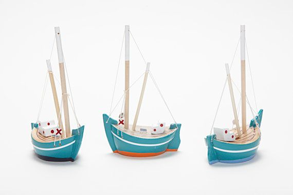 Wooden Boat - Etsy