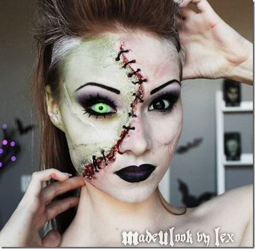 zombie Beauty Pinterest
