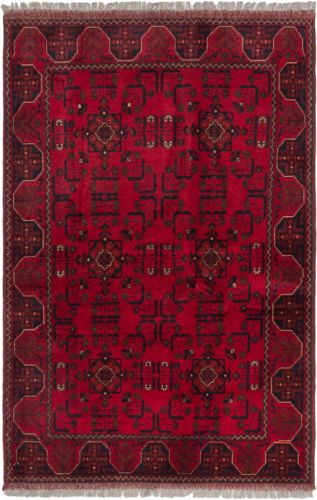 Hand-knotted-Finest-Khal-Mohammadi-Red-Wool-Rug-42-x-62-2
