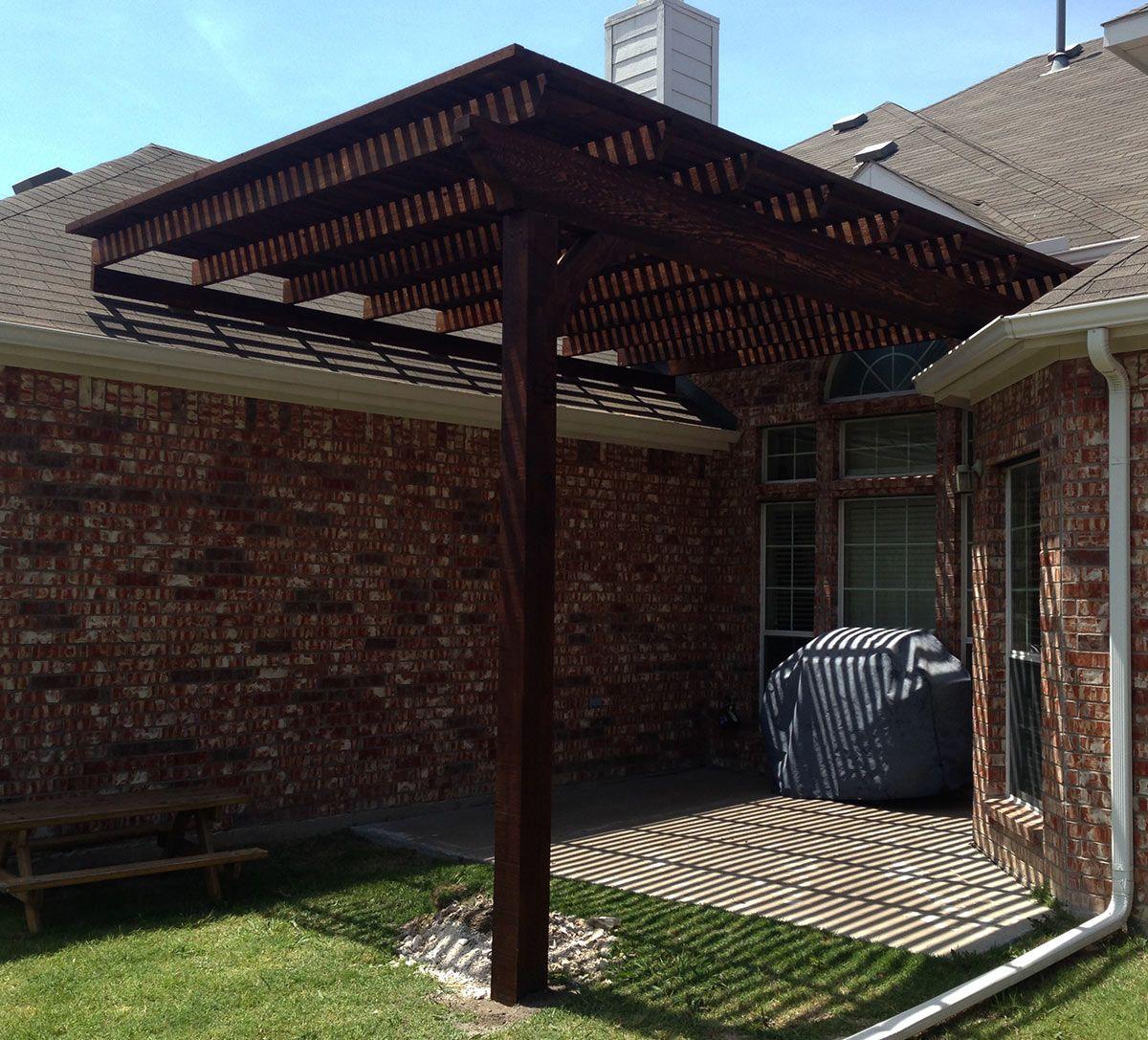 Arbor Frisco Garage Pinterest Pergolas Texas And Arbors. Remarkable Pergola  Attached To Roof ... - Attaching Pergola To Roof Shapeyourminds.com