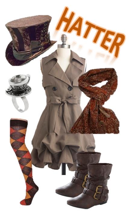 Syfy S Alice In Wonderland Hatter Outfit Wonderland Mad