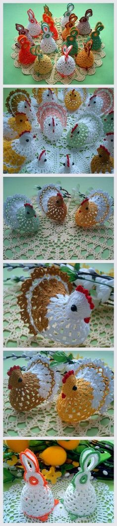 Easter Bunny and Chicken Tutorial