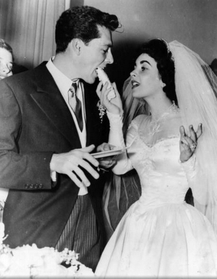 Elizabeth Taylor At Her First Wedding To Conrad Hilton 1950 Via