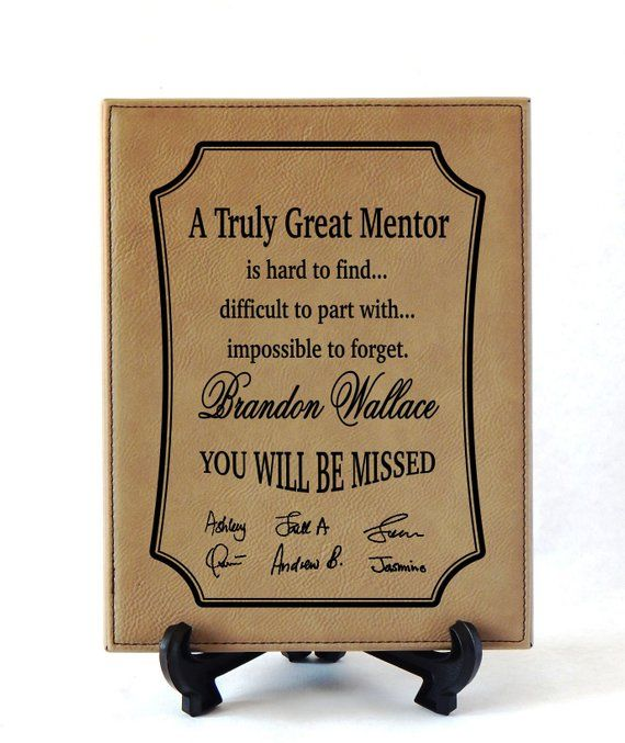 Wedding Gift Ideas For Coworker: Gifts For Mentor Leaving