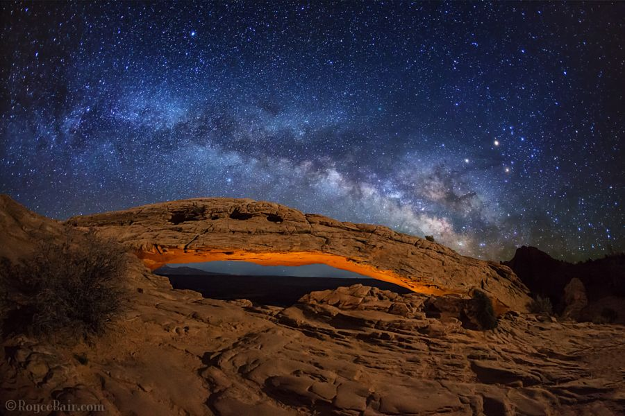 Mesa Arch by Royce's NightScapes - Photo 150207351 - 500px