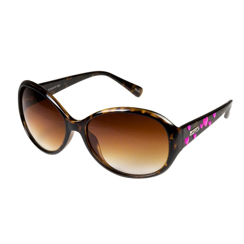 Mod Round Sunglasses with Hearts by Betsey Johnson | window shopping ...