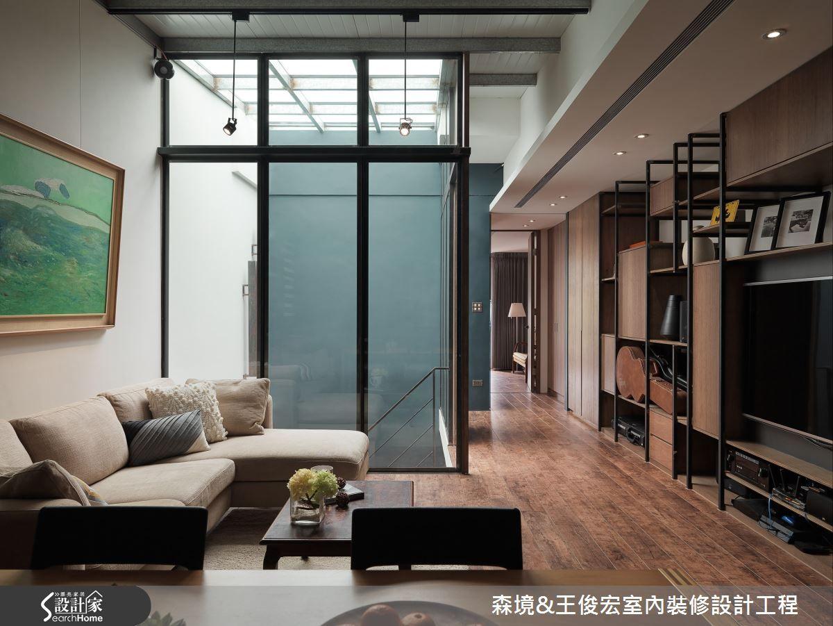 狹長型老屋有解 天井引光 抒寫三層樓的光陰故事 設計家searchome