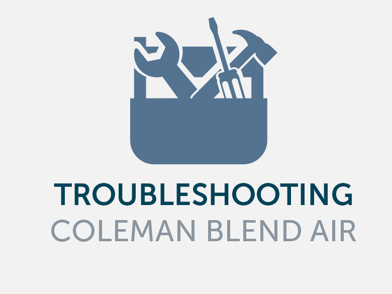 Troubleshooting Coleman\'s Blend Air Systems | Mobile Home HVAC ...