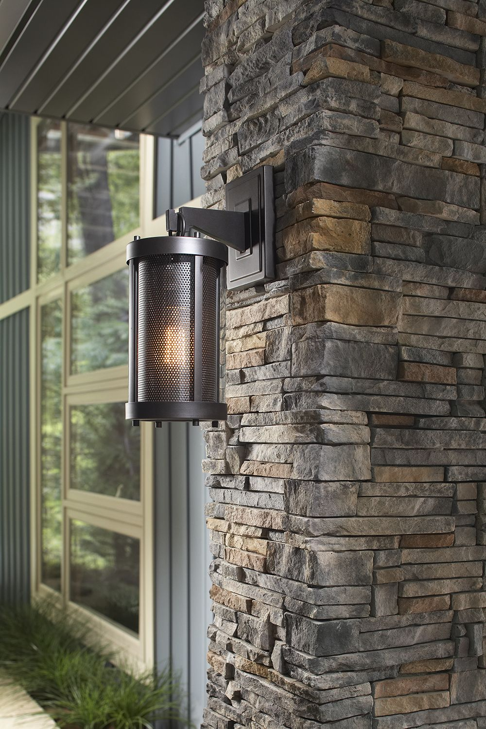 Feiss Lighting Bluffton Oil Rubbed Bronze Outdoor Wall