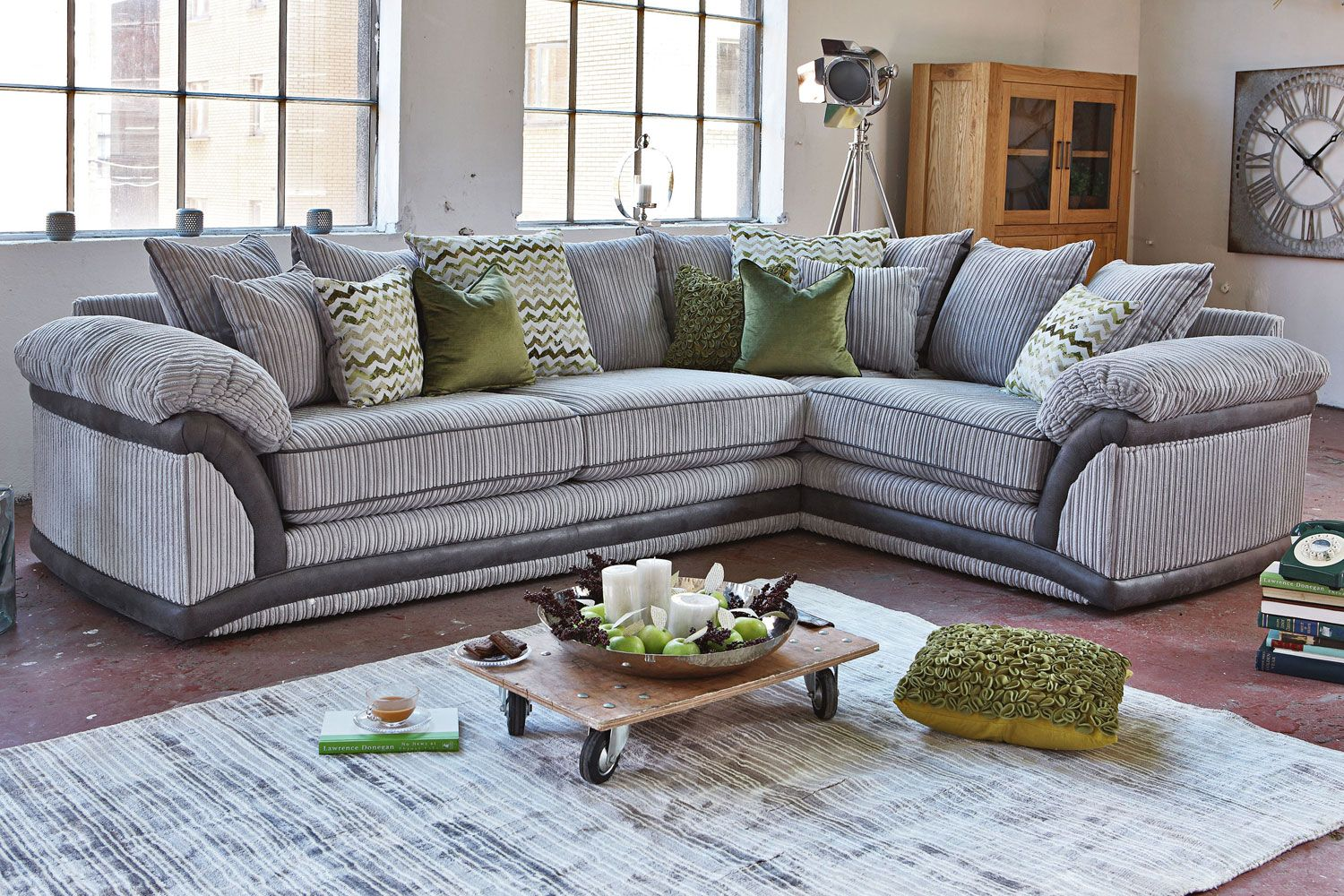 Harvey Norman Darcia Corner Sofa Sitting Room | Narrow lounge rooms ...