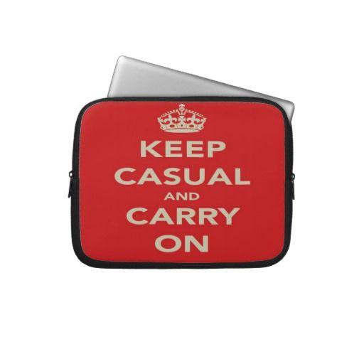 Keep Casual And Carry on Laptop Case