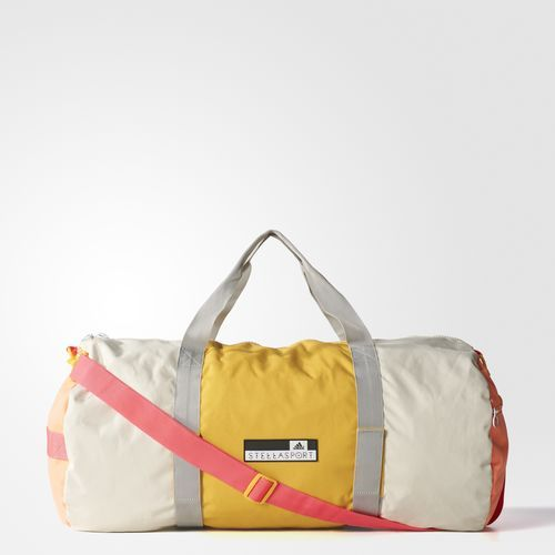 9d3a318755 Femmes adidas STELLASPORT Colorblocked Team Bag - White Adidas Bags
