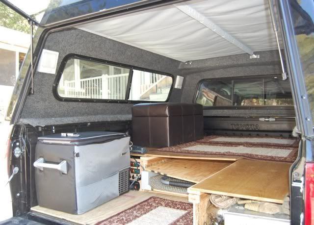 Flippac Topper Camper Toyota Overland Truck Bed
