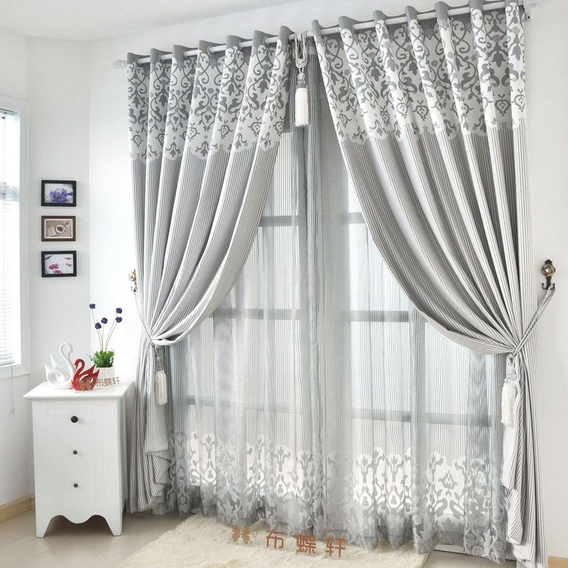 Great Graceful Living Room Suitable Light Gray Curtains Grey For Peaceful Design  Ideas All Dining Classic Linen And Poly Blended Materials Decorating Pictures Gallery