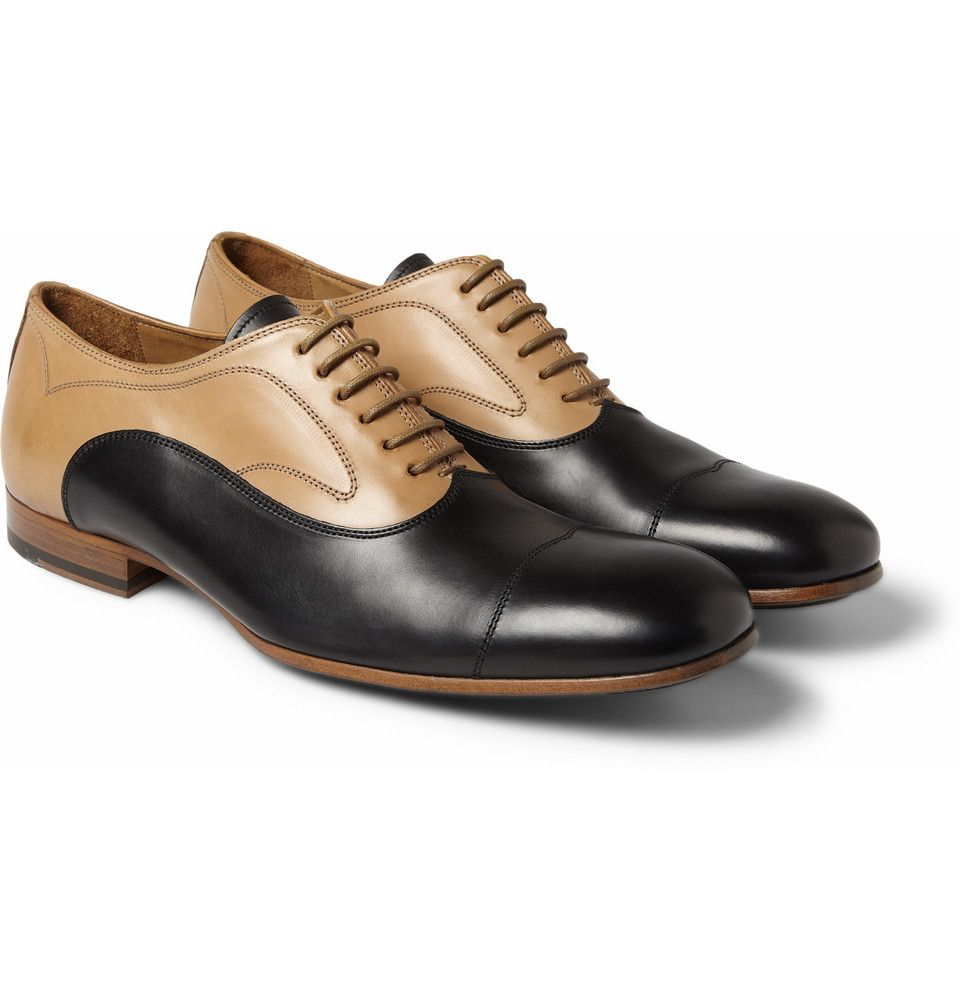 Designer oxford shoes, Leather oxford