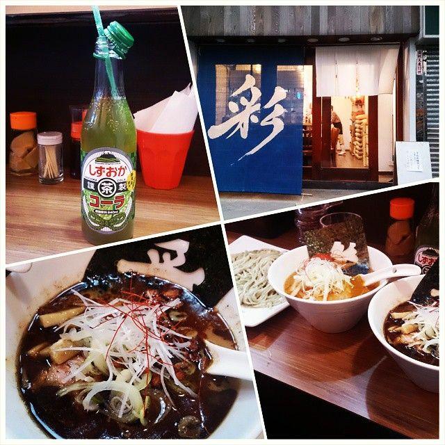在2015年最後一天 終於給我吃到了 :.().: #aya #dinner #黑油沾麵 by koori023