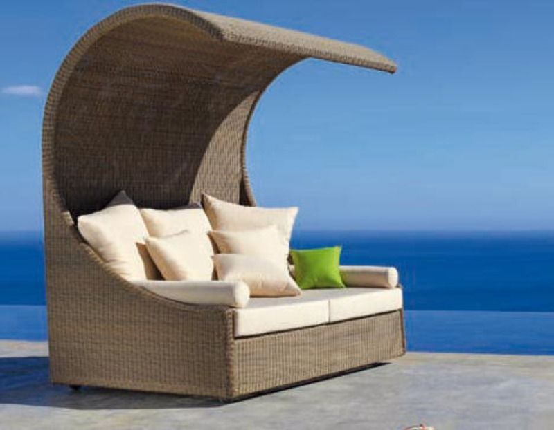 Covered Outdoor Sofa