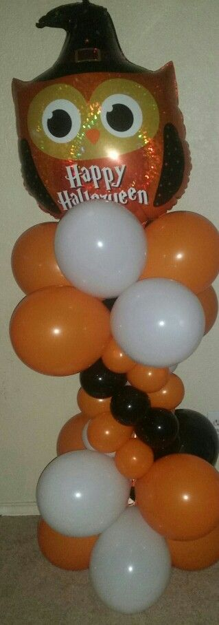 Halloween Balloon Column call or text essential event rentals llc for you next event! 4695405179