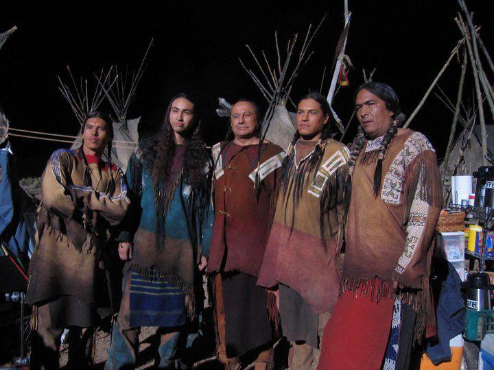 David Midthunder Tatanka Means Russell Means Eddie Spears Eric Schweig ̜ëª…인사 Indian man, native indian, eric schweig, native americans, handsome, river, celebrities, men, actor. david midthunder tatanka means