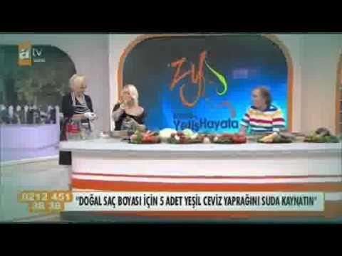 Prof Dr Ibrahim Saraçoğlu Doğal Saç Boyası Nasıl Yapılır Zahide Ile