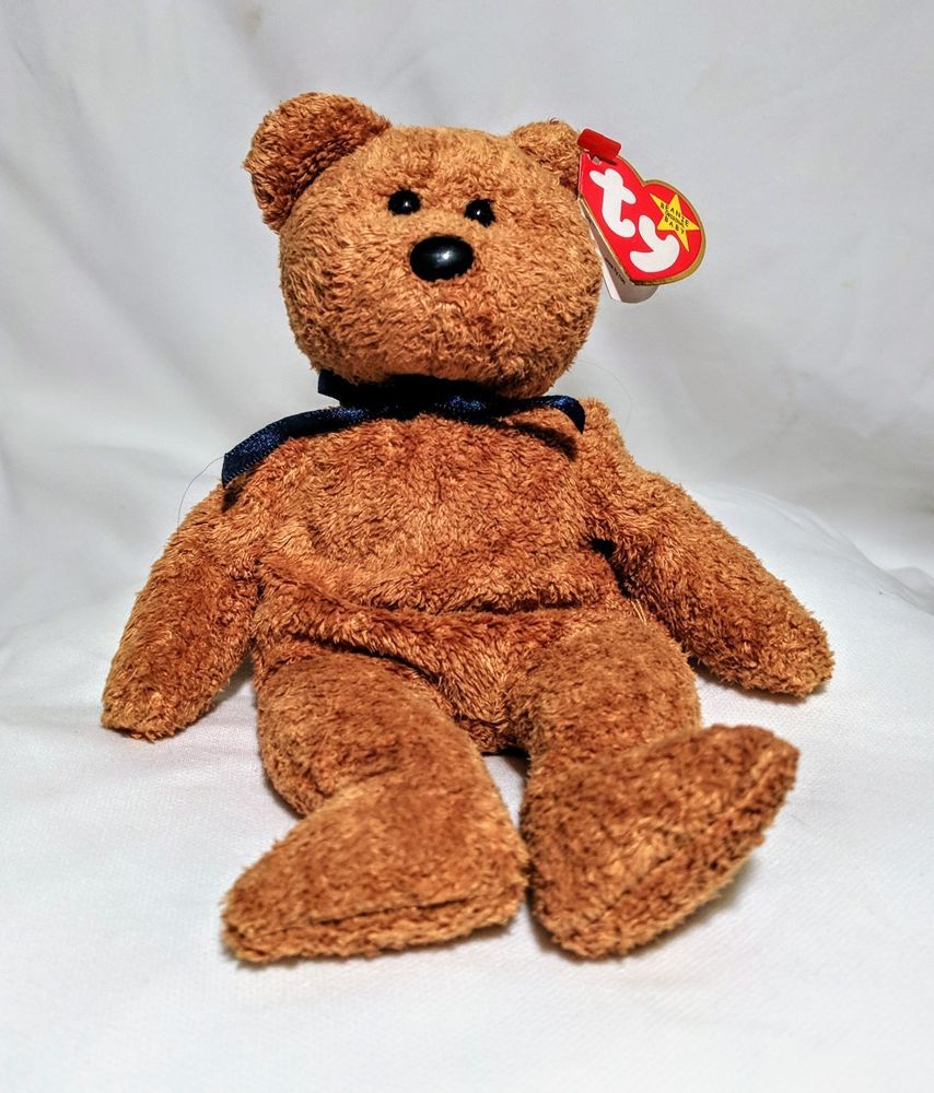 Ultra Rare Fuzz Beanie Baby in Perfect Condition With Mistakes  763c7d652adf