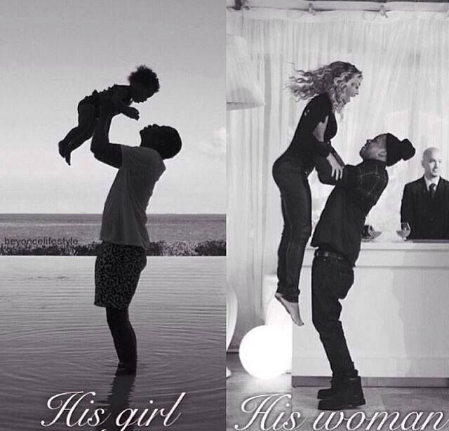 So cute! Jay Z and beyoncé
