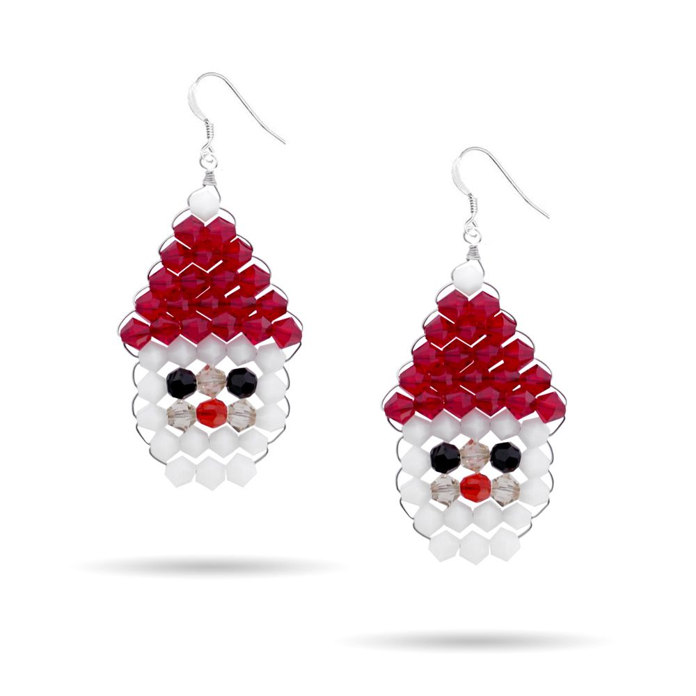 Santa Weave Holiday Earring Kit