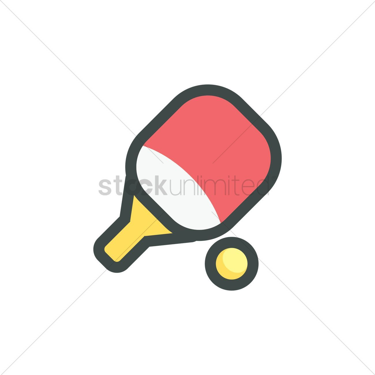 Table Tennis Racket And Ball Vector Illustration Aff Racket Tennis Table Illustration Vector Affil In 2020 Table Tennis Racket Table Tennis Tennis Racket
