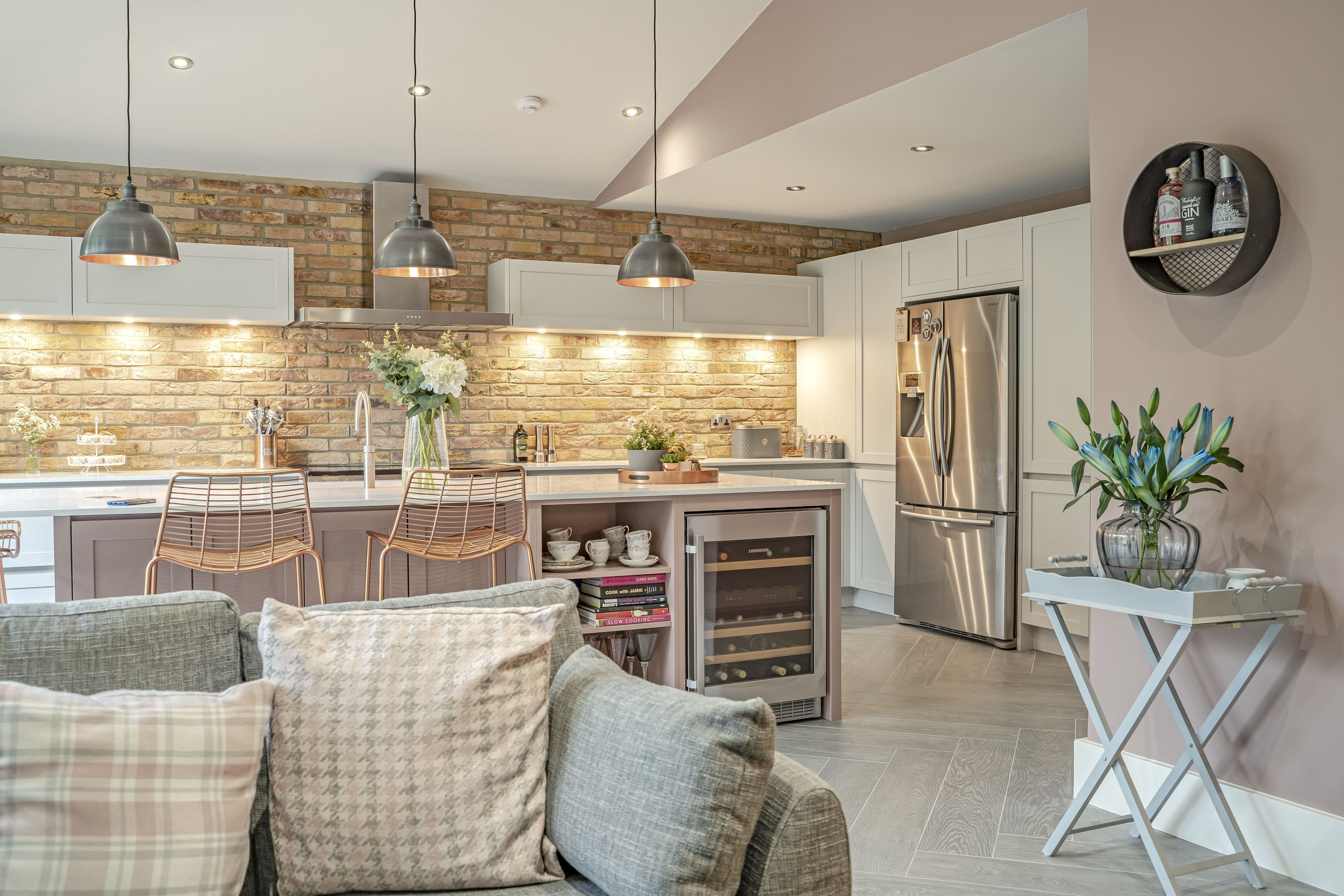 Best Farrow And Ball Pink Paint Inspires Watermark Kitchen 400 x 300