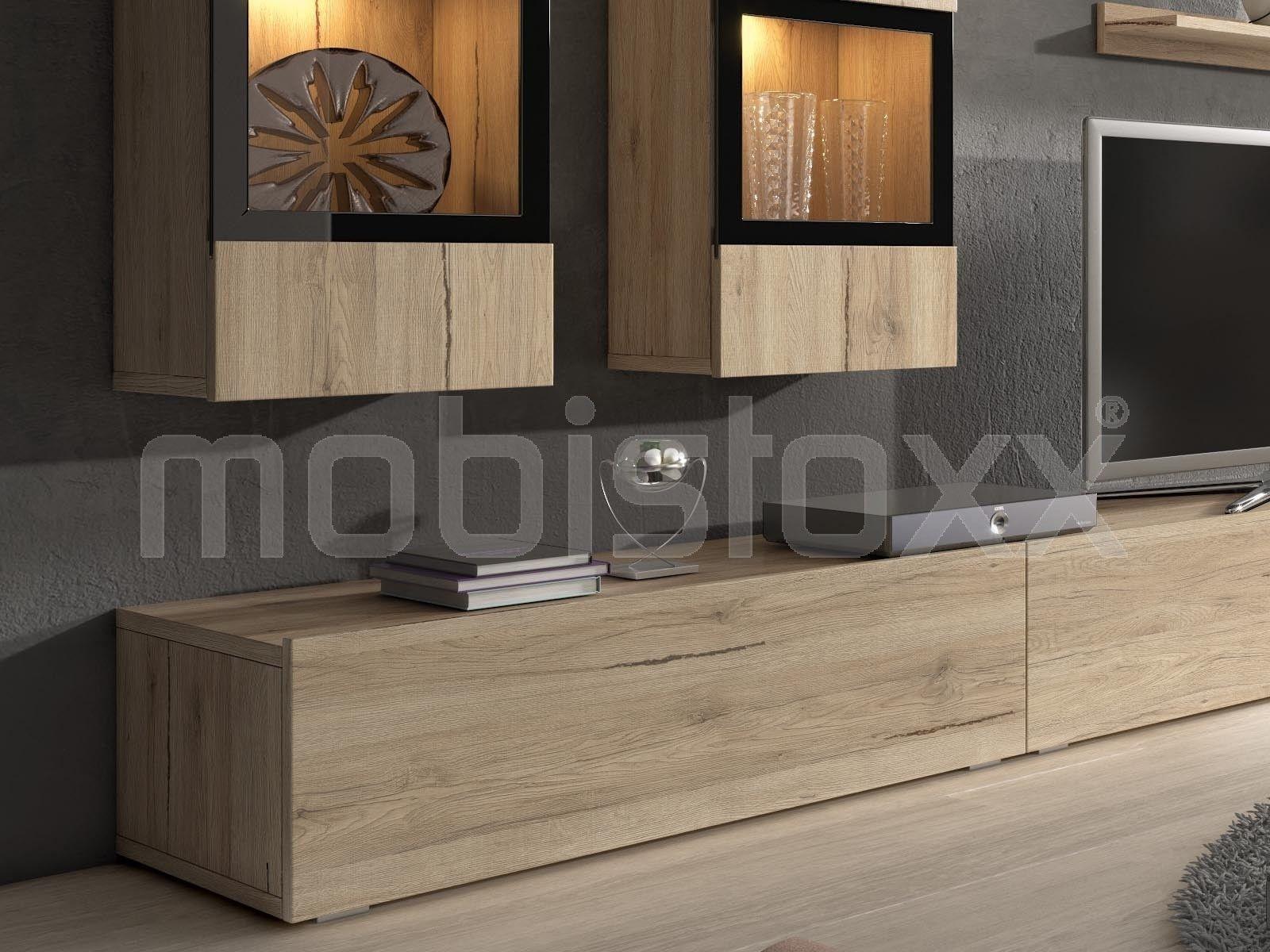Mur Tv Hifi Babel 5 Portes Sanremo Sans Led Chez Mobistoxx Mobilier De Salon Mur Tv Interieur Contemporain