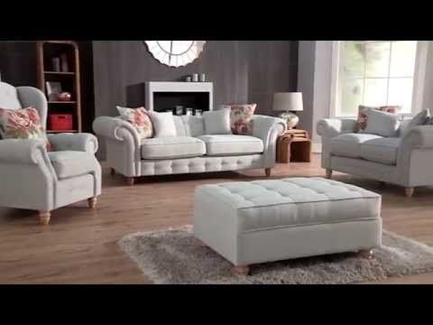 Linea Chester 3 Seater Fabric Sofa House Of Fraser Sofas Furniture And Flooring