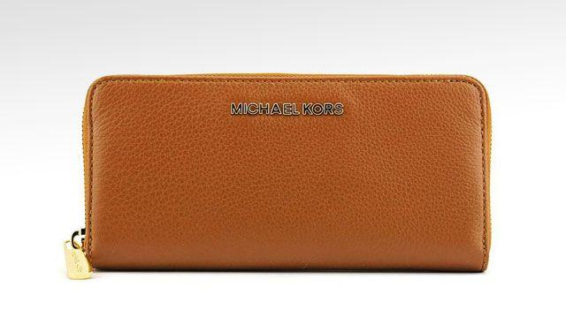 21e9c1e91460 Michael Kors Bedford Zip Around Continental Wallet
