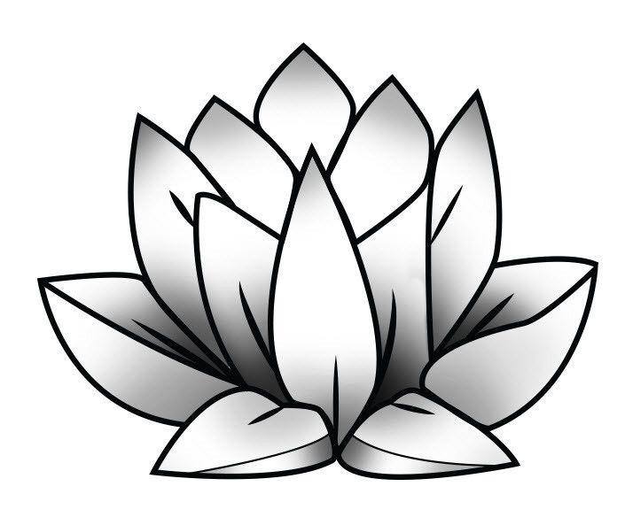 Lotus Temporary Tattoo by Strepik