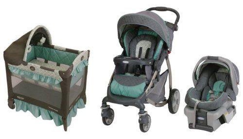 Graco Stylus Baby Stroller, SnugRide 30 Infant Car Seat & Pack n ...