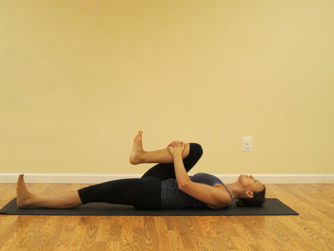 Active Supine Stretch (psoas) Psoas stretch, Tight