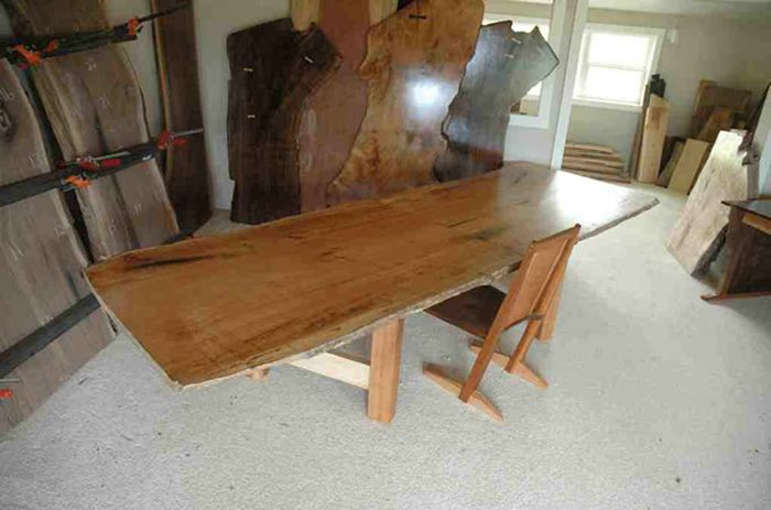 Custom Restored Wood Conference Table Custom Wood Conference - Handmade conference table