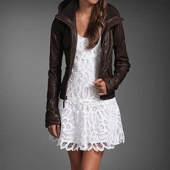 Leather and Lace = Love.