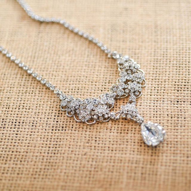 One of our favorite necklaces from our new collection! #ericakoesler #wedding #bride #bridal #jewelry #love