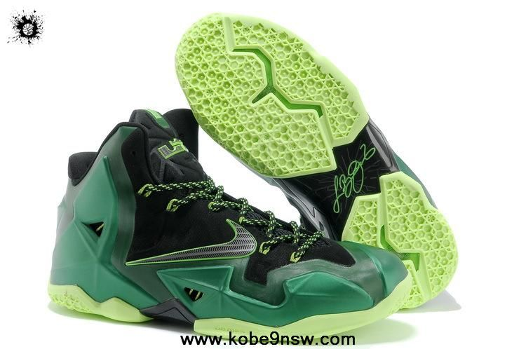 reputable site af701 bdfff ... australia low price 616175 032 nike lebron 11 green for sale eef87 3d971