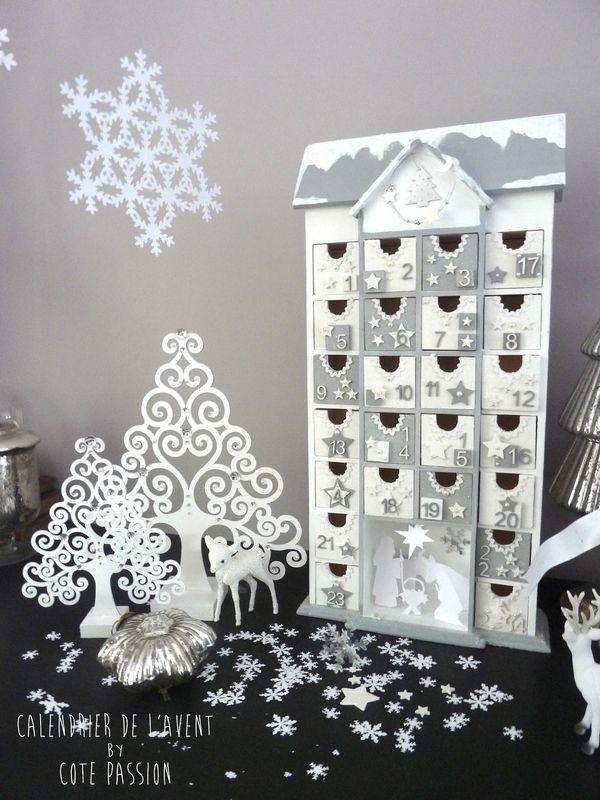 calendrier de l 39 avent c t passion advent calendars. Black Bedroom Furniture Sets. Home Design Ideas