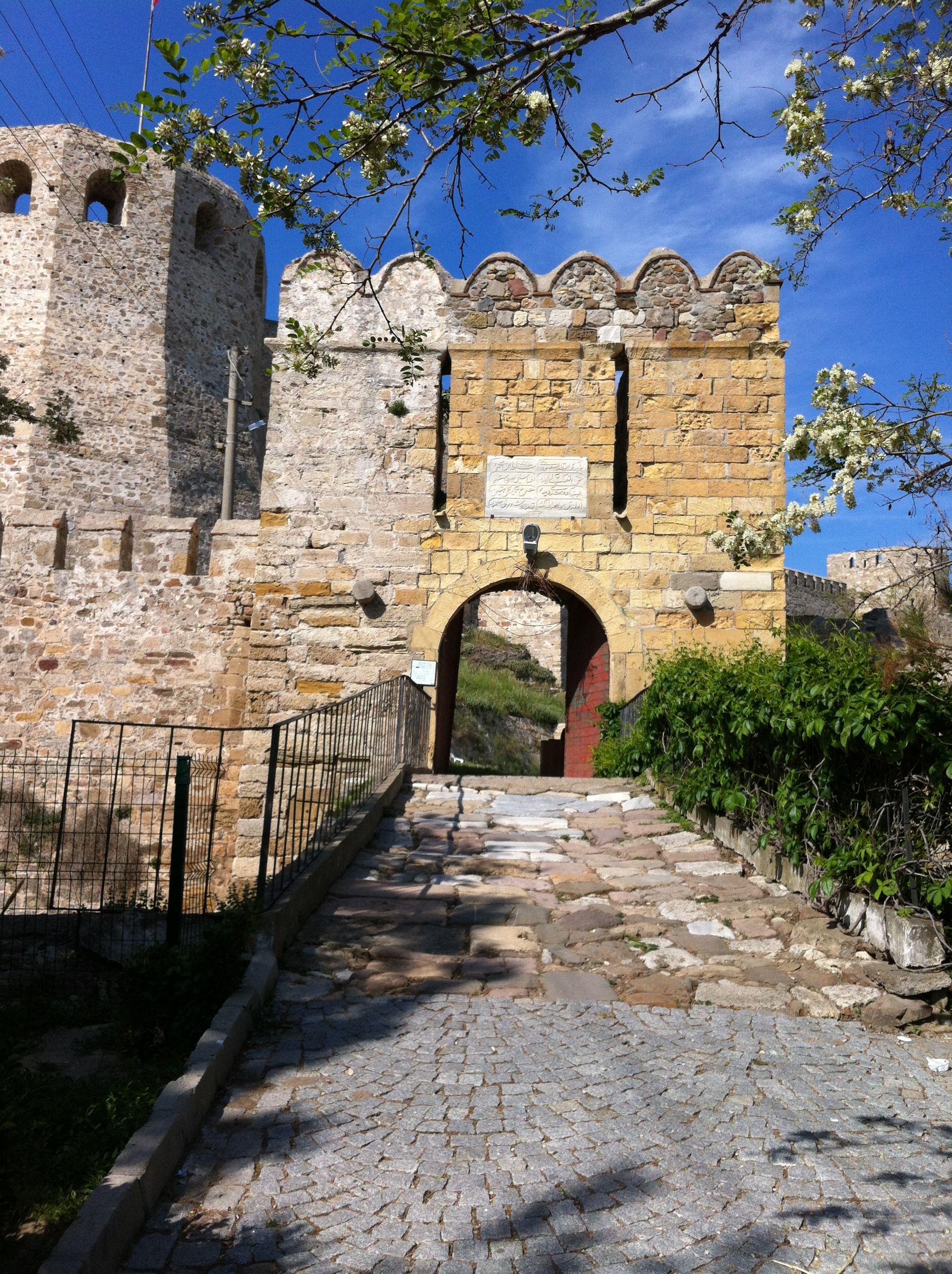 Enterance of the Castle @ Bozcaada