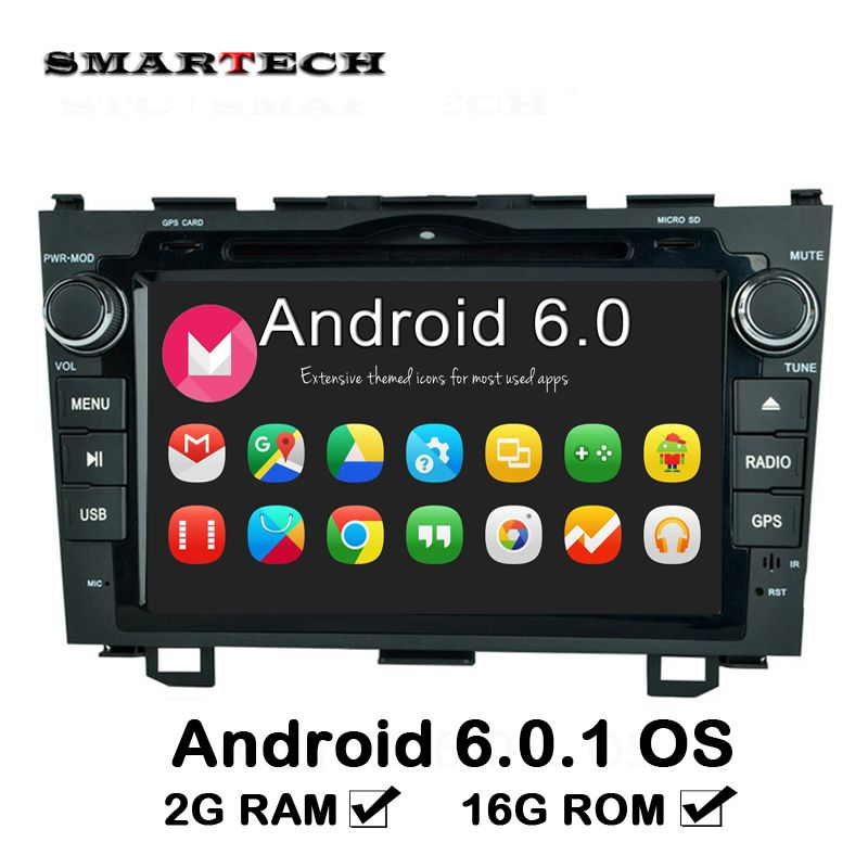 2 Din Android Dvd 2g Ram Car Multimedia Player Stereo For Honda Cr