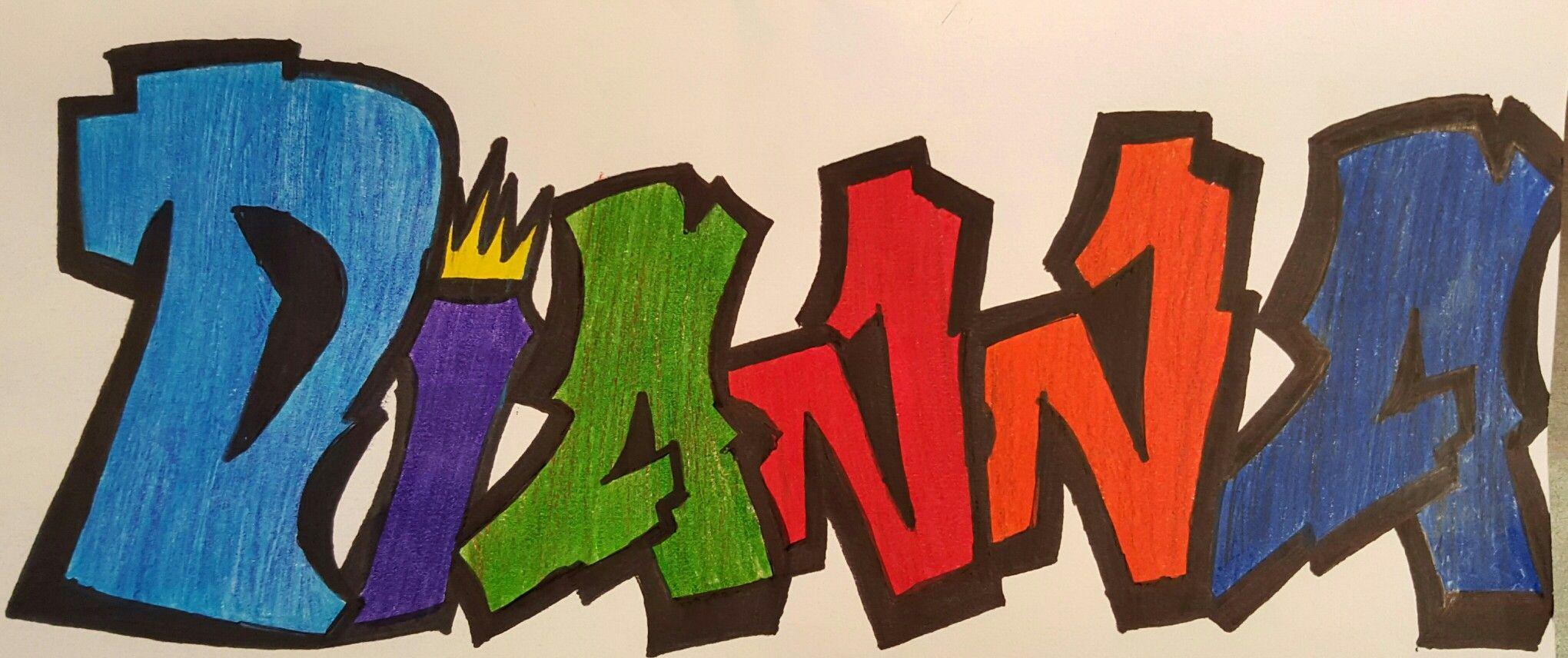 Картинки с именами графити