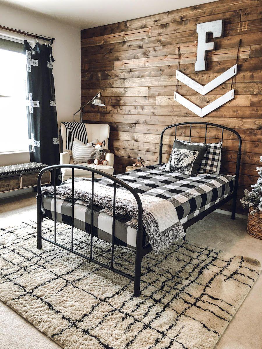 This Home S Diy Farmhouse Decor Is A Pinterest Worthy Dream Theeverymom Bedroom Design Toddler Boys Room Big Boy Room