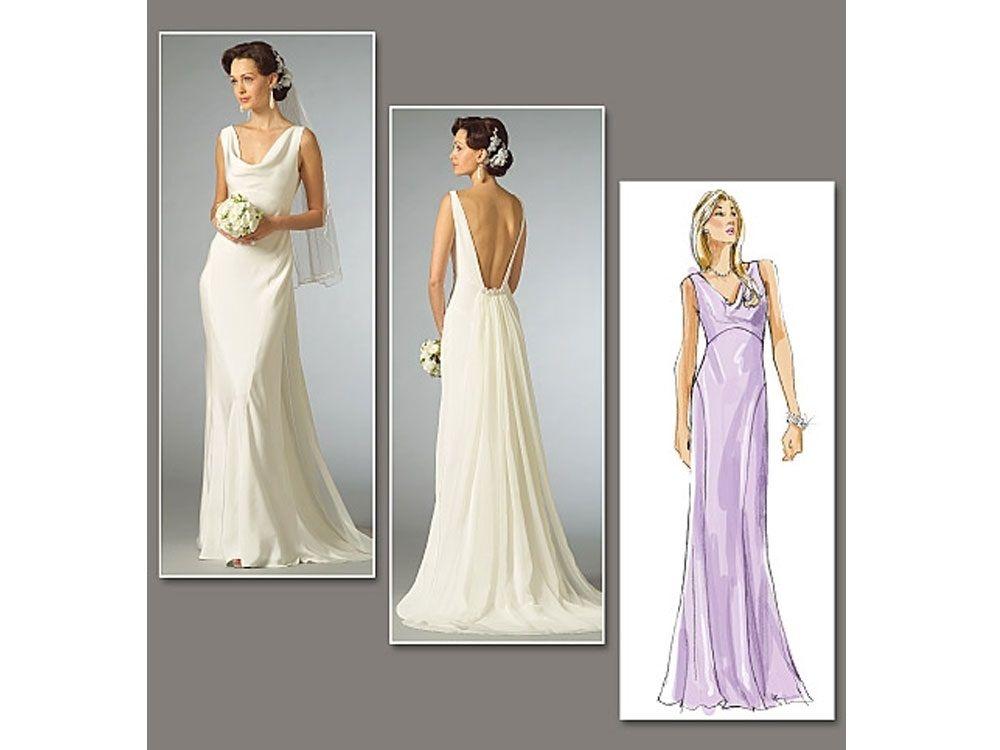 Schnittmuster Vogue 2965 Brautkleid | Pinterest | Brautkleid ...