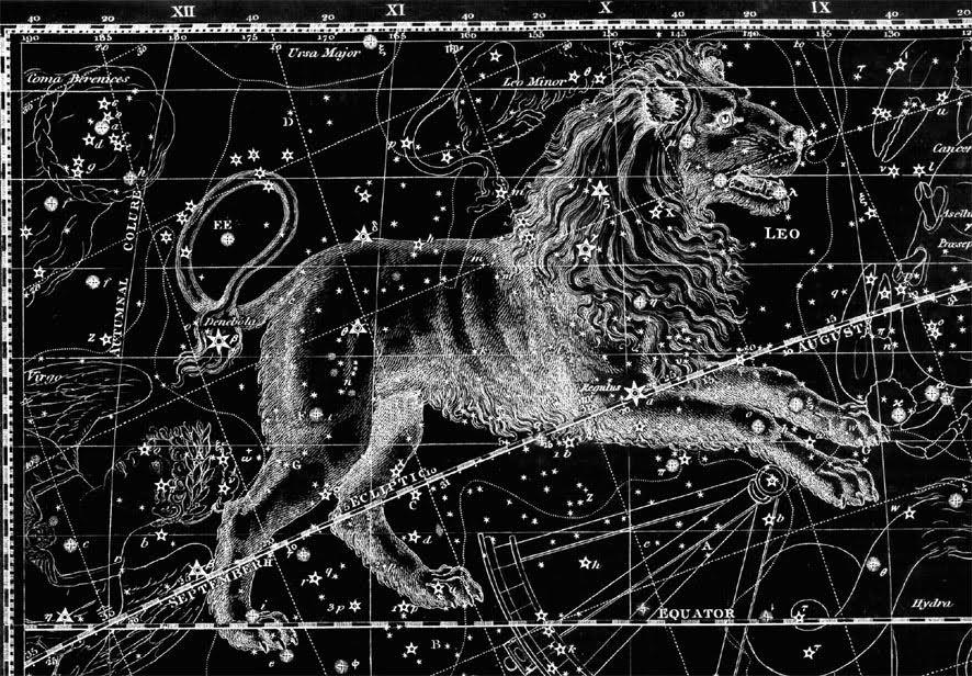 того, картинки созвездия льва сразу